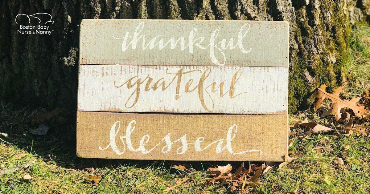 Encouraging Gratitude