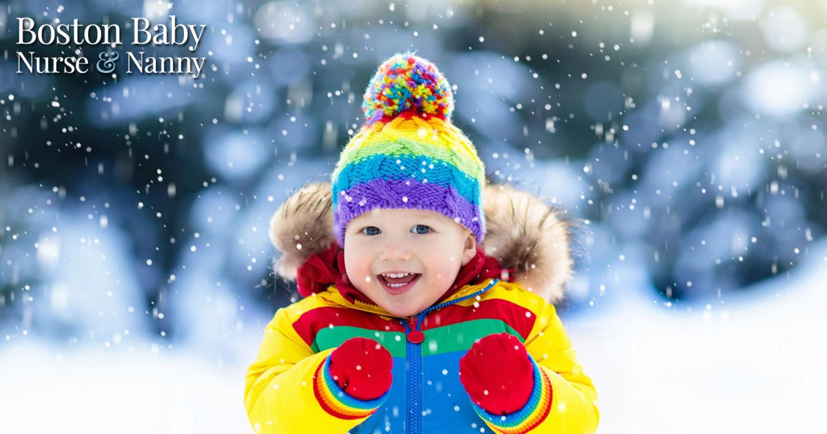 outdoor play during winter