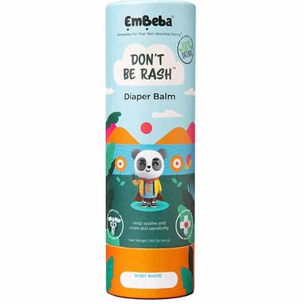 Embeba Rash Balm: Sensitive Skin and Diapers Rash