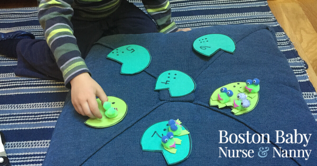 counting frog game