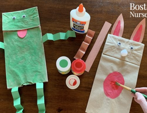 Spring Art Project: Make an Easter Bunny or Passover Frog