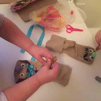 homemade puppets