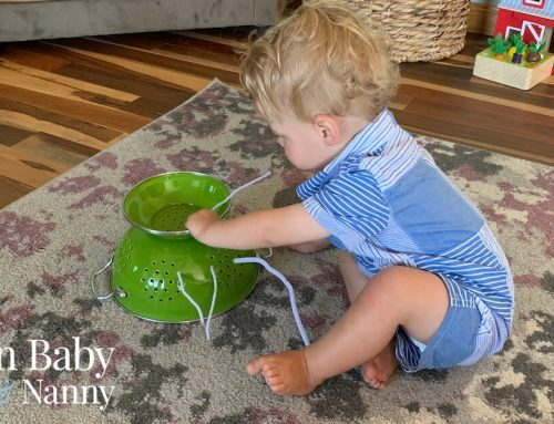 Infant Activities To Make At Home for Your 6-12 Month Old